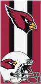 Northwest NFL Cardinals Zone Read Beach Towel
