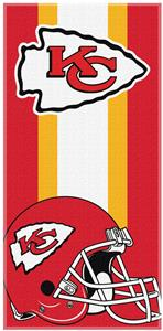 Northwest NFL Chiefs Zone Read Beach Towel