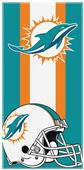 Northwest NFL Dolphins Zone Read Beach Towel