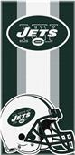 Northwest NFL Jets Zone Read Beach Towel