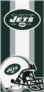 Northwest NFL Jets Zone Read Beach Towel