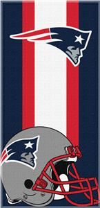 Northwest NFL Patriots Zone Read Beach Towel