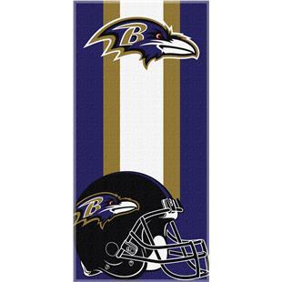 Northwest NFL Ravens Zone Read Beach Towel