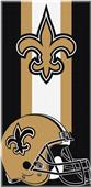 Northwest NFL Saints Zone Read Beach Towel