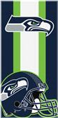 Northwest NFL Seahawks Zone Read Beach Towel