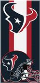 Northwest NFL Texans Zone Read Beach Towel