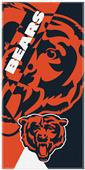 Northwest NFL Bears Puzzle Oversized Beach Towel