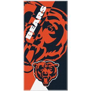 Northwest NFL Bears Puzzle Oversized Beach Towel