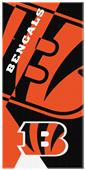 Northwest NFL Bengals Puzzle Oversized Beach Towel