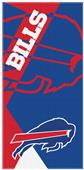 Northwest NFL Bills Puzzle Oversized Beach Towel