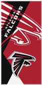 Northwest NFL Falcons Puzzle Oversized Beach Towel