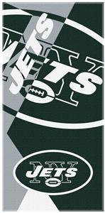 Northwest NFL Jets Puzzle Oversized Beach Towel