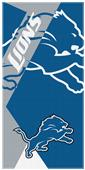 Northwest NFL Lions Puzzle Oversized Beach Towel