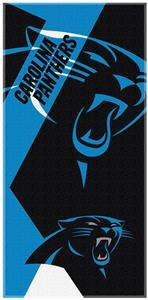 Northwest NFL Panthers Puzzle Oversize Beach Towel