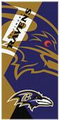 Northwest NFL Ravens Puzzle Oversized Beach Towel