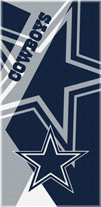 Northwest NFL Cowboys Puzzle Oversized Beach Towel