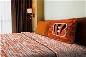 Northwest NFL Bengals Anthem Twin Sheet Set