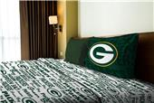 Northwest NFL Packers Anthem Twin Sheet Set