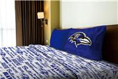 Northwest NFL Ravens Anthem Twin Sheet Set