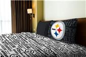 Northwest NFL Steelers Anthem Twin Sheet Set