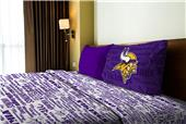 Northwest NFL Vikings Anthem Twin Sheet Set