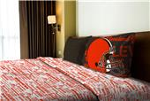 Northwest NFL Browns Anthem Twin Sheet Set