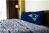 Northwest NFL Patriots Anthem Twin Sheet Set