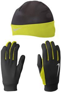 NIKE Men's Running Thermal Beanie/Glove Set