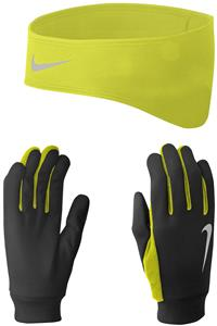 NIKE Men's Running Thermal Headband/Glove Set