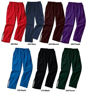 "Unisex Rival Pants 12"" Zippers at Ankles"