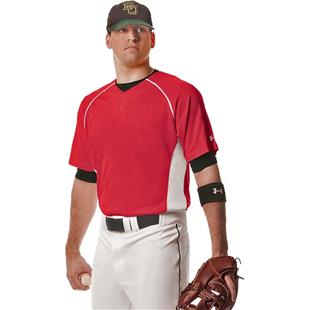 Under Armour Backstop Henley Baseball Jersey CO