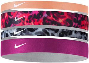 NIKE Printed Headbands (Assorted 4pk)