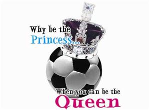 Closeout-Soccer Queen soccer tshirt gifts AXXL