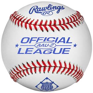 Rawlings AAU2 Official League AAU Baseballs