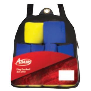 Adams Flag Football Set 10 Belts
