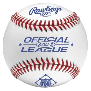 Rawlings AAU3 Official League AAU Baseballs
