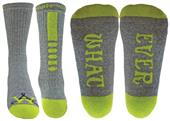 Wright Avenue Whatever Novelty Cotton Crew Sock