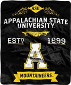 NCAA Appalachian State Label Raschel Throw