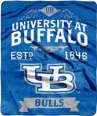 NCAA Buffalo Bulls Label Raschel Throw