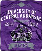 NCAA Central Arkansas Label Raschel Throw