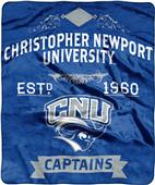 NCAA Christopher Newport Label Raschel Throw