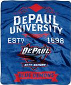 NCAA Depaul Label Raschel Throw