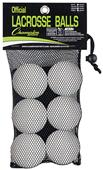 Champion Sports NOCSAE Lacrosse Balls (set of 6)