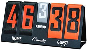Champion Sports Deluxe Tabletop Flip-A-Score