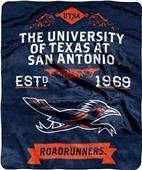 NCAA Texas at San Antonio Label Raschel Throw