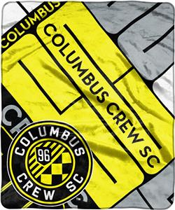 MLS Columbus Crew Scramble Raschel Throw