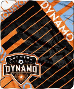 MLS Houston Dynamo Scramble Raschel Throw