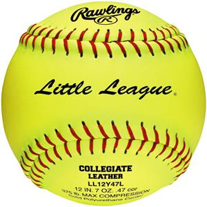 "Rawlings 12"" Little League Fast Pitch Softballs"