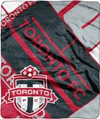 MLS Toronto FC Scramble Raschel Throw