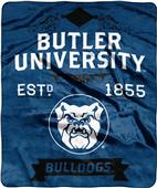 NCAA Butler Label Raschel Throw